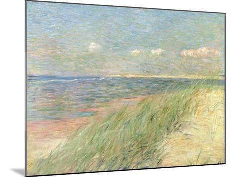 Les Dunes Du Zwin, Knokke, 1887-Th?o van Rysselberghe-Mounted Giclee Print