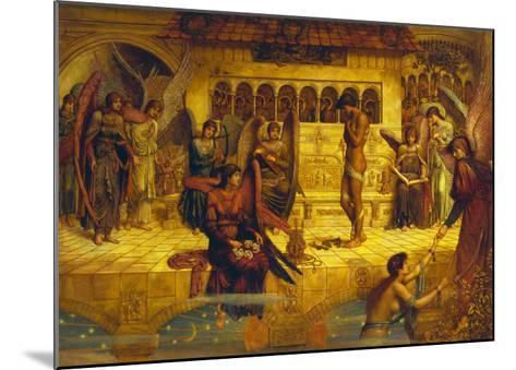 The Ramparts of God's House-John Melhuish Strudwick-Mounted Giclee Print