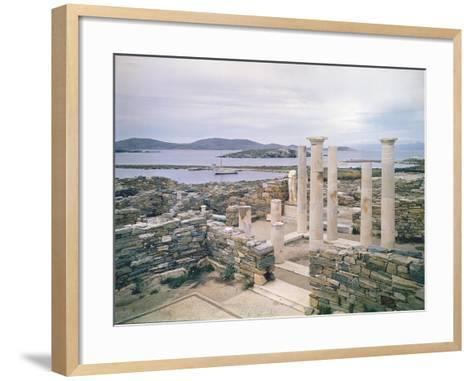 View of the House of Cleopatra-Greek-Framed Art Print