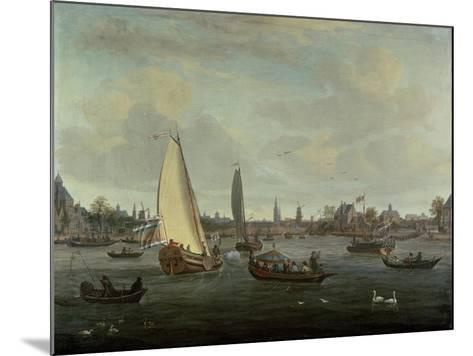 View of Amsterdam Harbour-Abraham Storck-Mounted Giclee Print