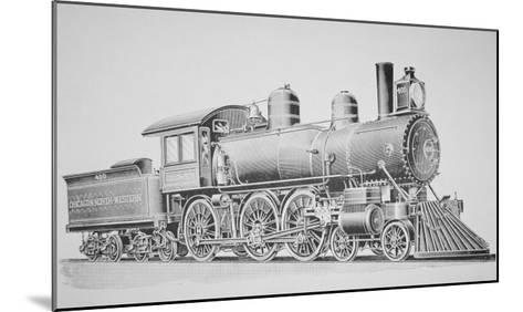 A Schenectady Locomotive-American School-Mounted Giclee Print