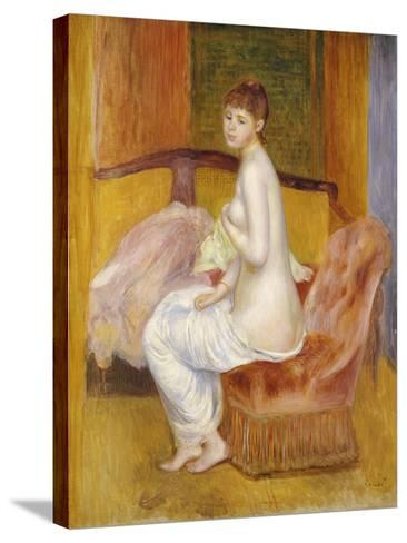 Seated Nude, Resting, 1885-Pierre-Auguste Renoir-Stretched Canvas Print