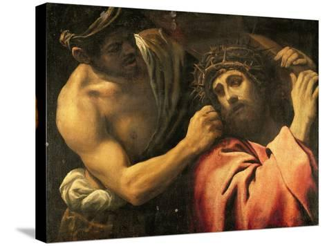 Christ Carrying the Cross-Annibale Carracci-Stretched Canvas Print