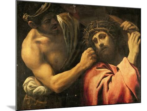 Christ Carrying the Cross-Annibale Carracci-Mounted Giclee Print