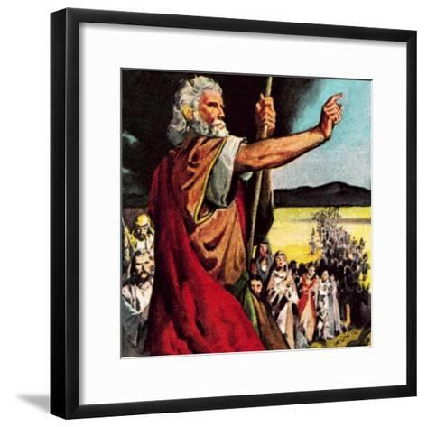 Moses in the Wilderness-McConnell-Framed Art Print