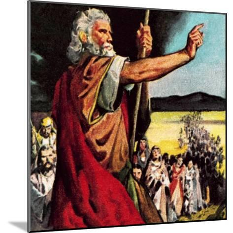 Moses in the Wilderness-McConnell-Mounted Giclee Print