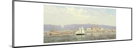 View of the Harbour, Palma-Ricardo Ankermann y Riera-Mounted Giclee Print