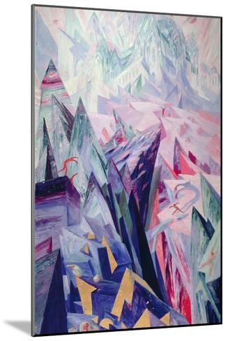 Way of the Genius, 1918-Wenzel Hablik-Mounted Giclee Print