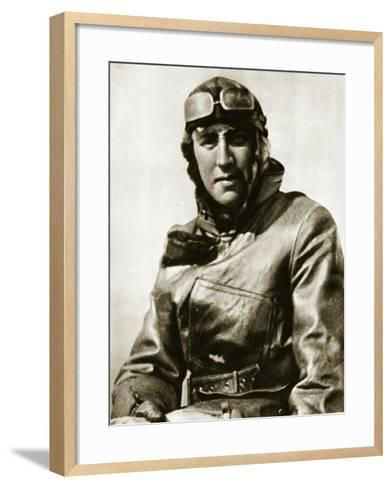 For Conspicuous Bravery-English Photographer-Framed Art Print