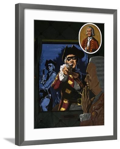 Unidentified Highwayman-John Higgins-Framed Art Print
