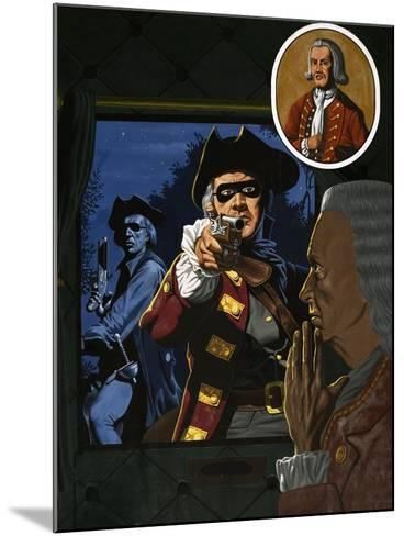 Unidentified Highwayman-John Higgins-Mounted Giclee Print