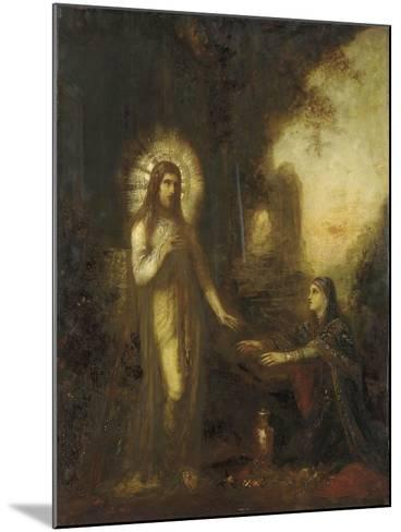 Christ and Mary Magdalene- Moreau-Mounted Giclee Print