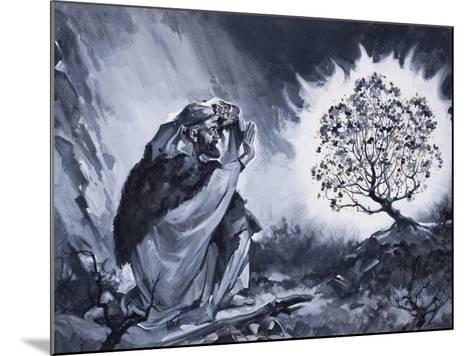 Moses and the Burning Bush-McConnell-Mounted Giclee Print