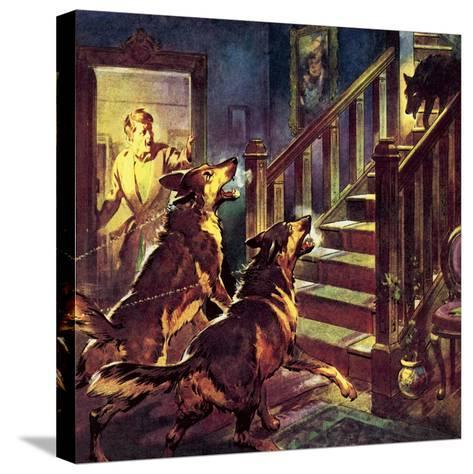 The Ghost of the Black Dog-McConnell-Stretched Canvas Print