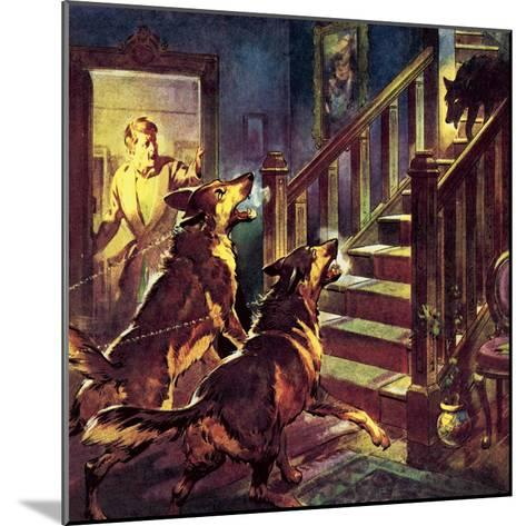 The Ghost of the Black Dog-McConnell-Mounted Giclee Print
