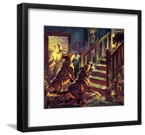 The Ghost of the Black Dog-McConnell-Framed Art Print