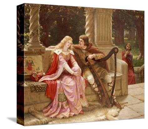 The End of the Song, 1902-Edmund Blair Leighton-Stretched Canvas Print