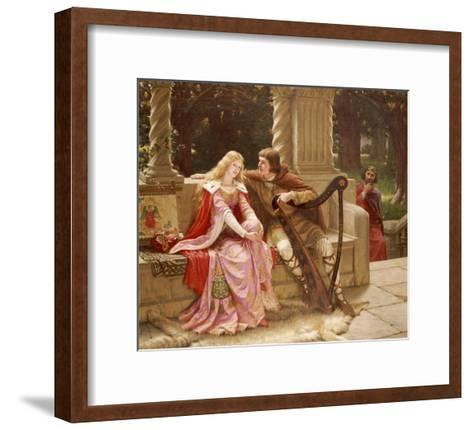The End of the Song, 1902-Edmund Blair Leighton-Framed Art Print