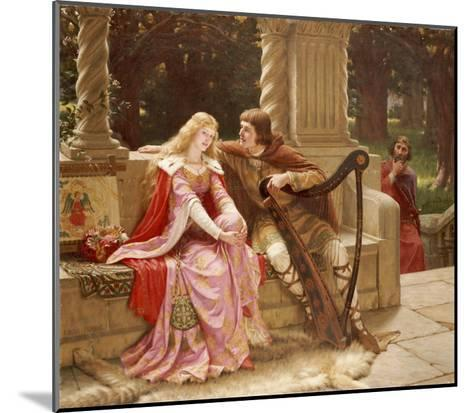 The End of the Song, 1902-Edmund Blair Leighton-Mounted Giclee Print