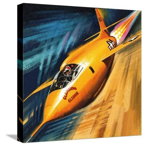 Breaking the Sound Barrier-Wilf Hardy-Stretched Canvas Print