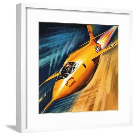 Breaking the Sound Barrier-Wilf Hardy-Framed Art Print