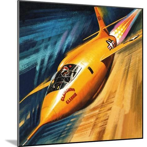 Breaking the Sound Barrier-Wilf Hardy-Mounted Giclee Print