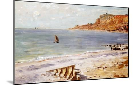 Seascape at Sainte-Adresse-Claude Monet-Mounted Giclee Print