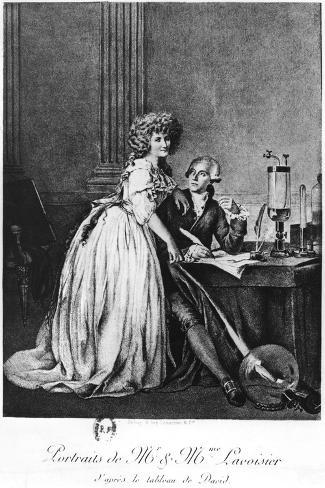 Antoine Laurent Lavoisier-Georges Ernest Profit-Stretched Canvas Print