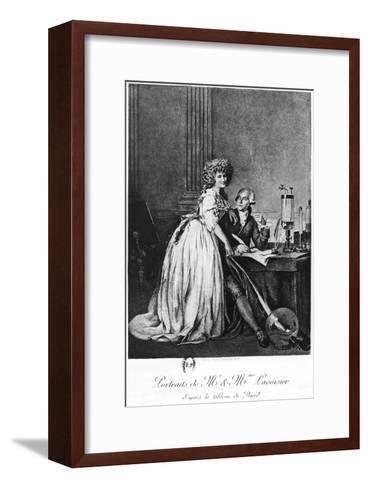 Antoine Laurent Lavoisier-Georges Ernest Profit-Framed Art Print