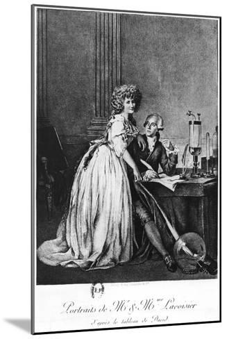 Antoine Laurent Lavoisier-Georges Ernest Profit-Mounted Giclee Print