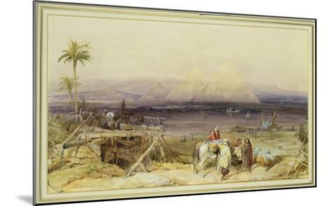 On the Nile, Egypt, 1846-William Clarkson Stanfield-Mounted Giclee Print