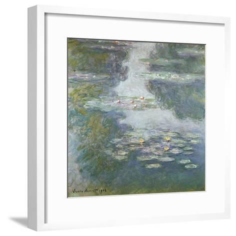 Waterlilies, Nympheas, 1908-Claude Monet-Framed Art Print