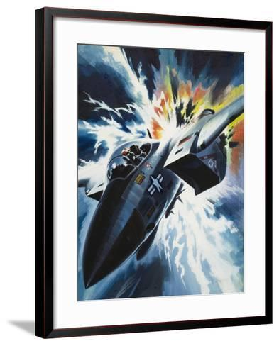 Danger from the Skies-Wilf Hardy-Framed Art Print