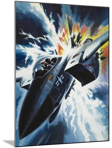 Danger from the Skies-Wilf Hardy-Mounted Giclee Print