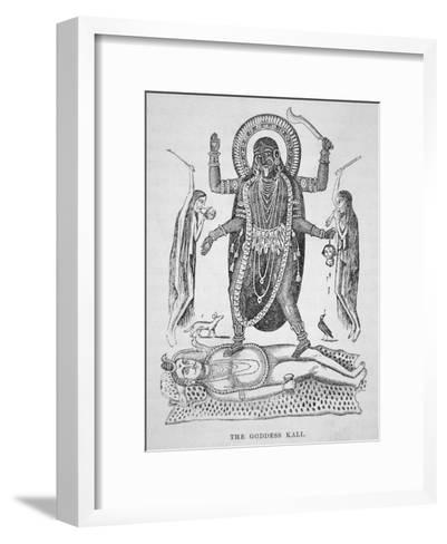 Kali the Hindu Goddess--Framed Art Print