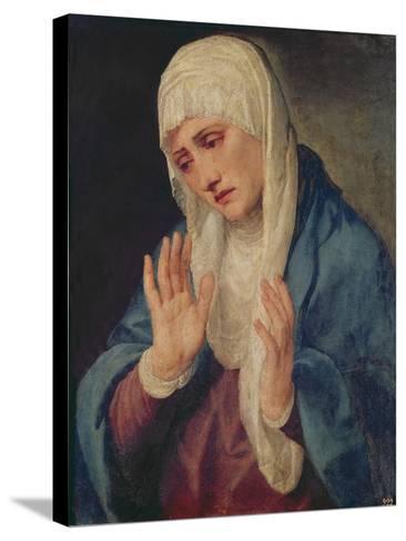 Mater Dolorosa, 1555-Titian (Tiziano Vecelli)-Stretched Canvas Print