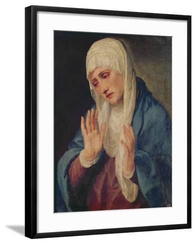 Mater Dolorosa, 1555-Titian (Tiziano Vecelli)-Framed Art Print