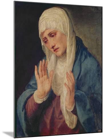 Mater Dolorosa, 1555-Titian (Tiziano Vecelli)-Mounted Giclee Print