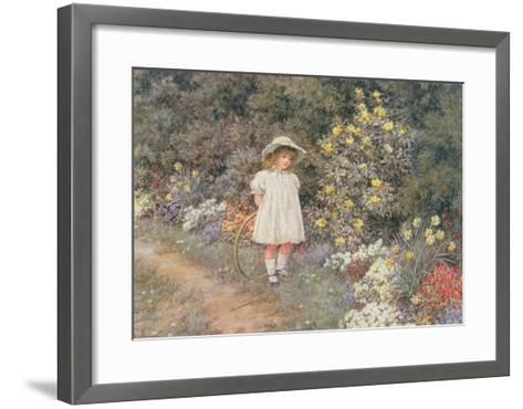 Pause for Reflection-Helen Allingham-Framed Art Print