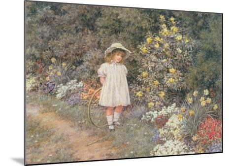 Pause for Reflection-Helen Allingham-Mounted Giclee Print