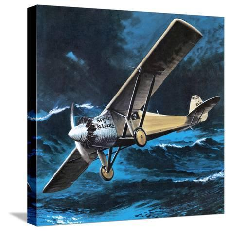Spirit of St Louis-Wilf Hardy-Stretched Canvas Print