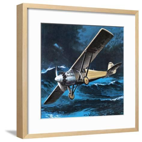 Spirit of St Louis-Wilf Hardy-Framed Art Print