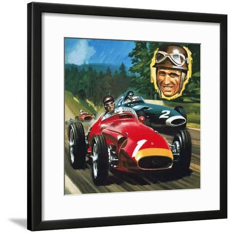 Juan Manuel Fangio-Wilf Hardy-Framed Art Print