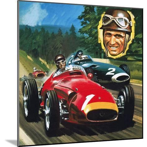 Juan Manuel Fangio-Wilf Hardy-Mounted Giclee Print