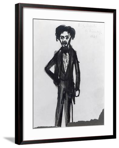 Self Portrait, 1849-Dante Gabriel Rossetti-Framed Art Print