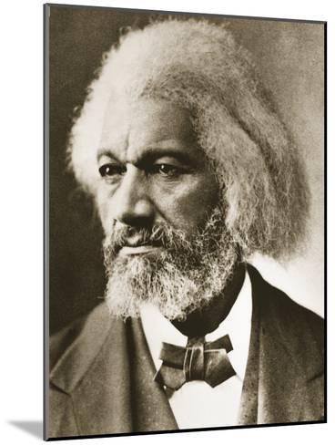 Frederick Douglass-Mathew Brady-Mounted Giclee Print