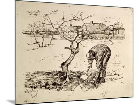 In the Orchard 1883-Vincent van Gogh-Mounted Giclee Print