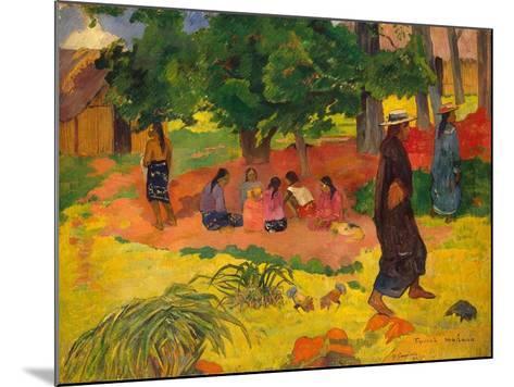 Taperaa Mahana, 1892-Paul Gauguin-Mounted Giclee Print