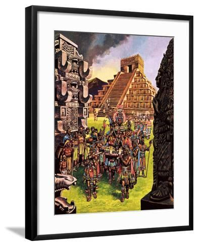 Ruins in the Forest-Ron Embleton-Framed Art Print