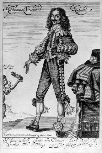 Thomas Urquhart, 1641-George Glover-Stretched Canvas Print